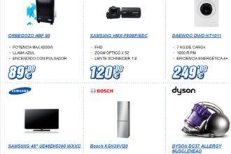 Miró electrodomésticos en oferta por esta semana hasta el 25 de noviembre