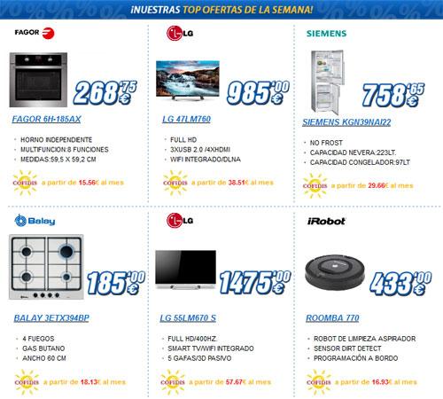 Las mejores ofertas de Navidad 2012 en electrodomésticos Miró