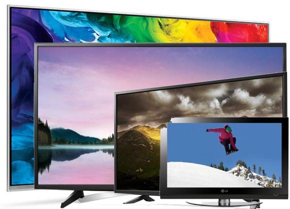 Ofertas televisores lg de diferente tamaños