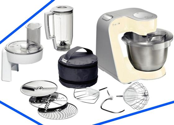 Miró Robot de Cocina BOSCH con Todos los Accesorios