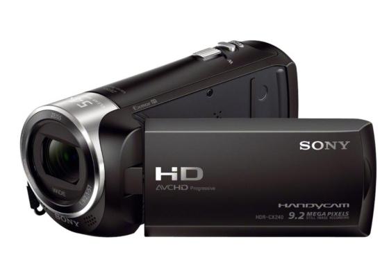 Cámara de video SONY con definición HD