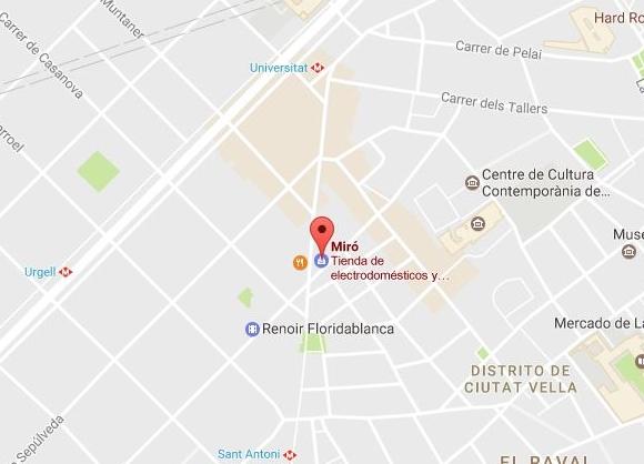 Electrodomésticos Miro en Barcelona