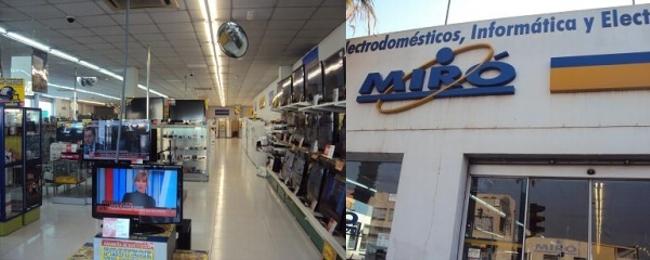 Tienda Electrodomésticos Miró Torrevieja