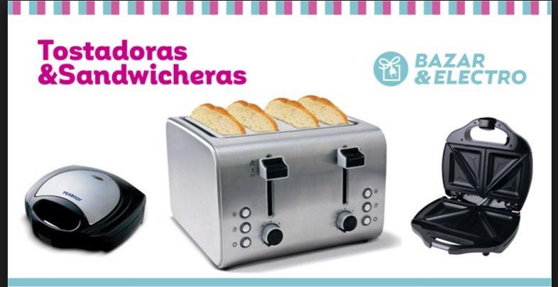 tipos de tostadoras y sandwicheras