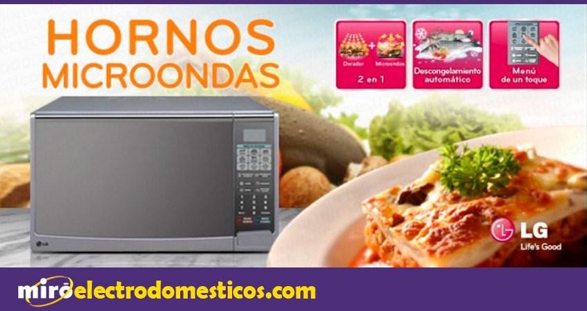 ofertas de microondas en Miró